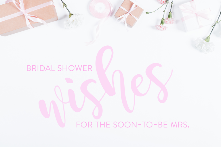 Bridal Shower Wishes Card
