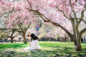 Cherry Blossom Romantic Landscaping