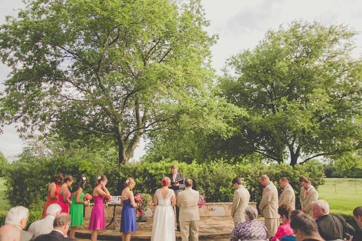 Outdoor Ceremony at Howell Family Farms