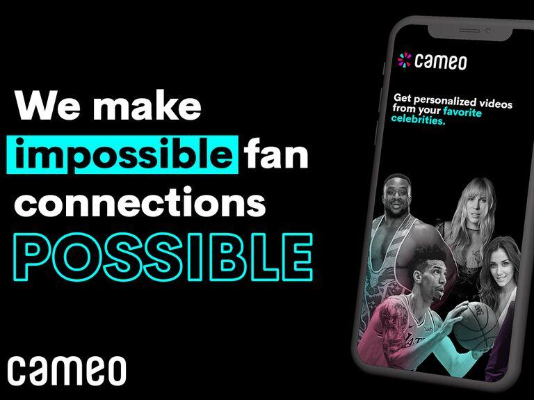 Cameo celebrity video message service