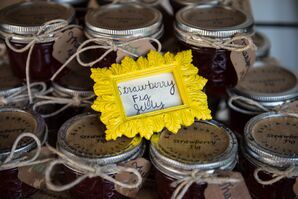 DIY Jelly Wedding Favors