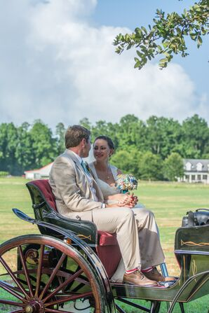 Horse-Drawn Carriage Getaway