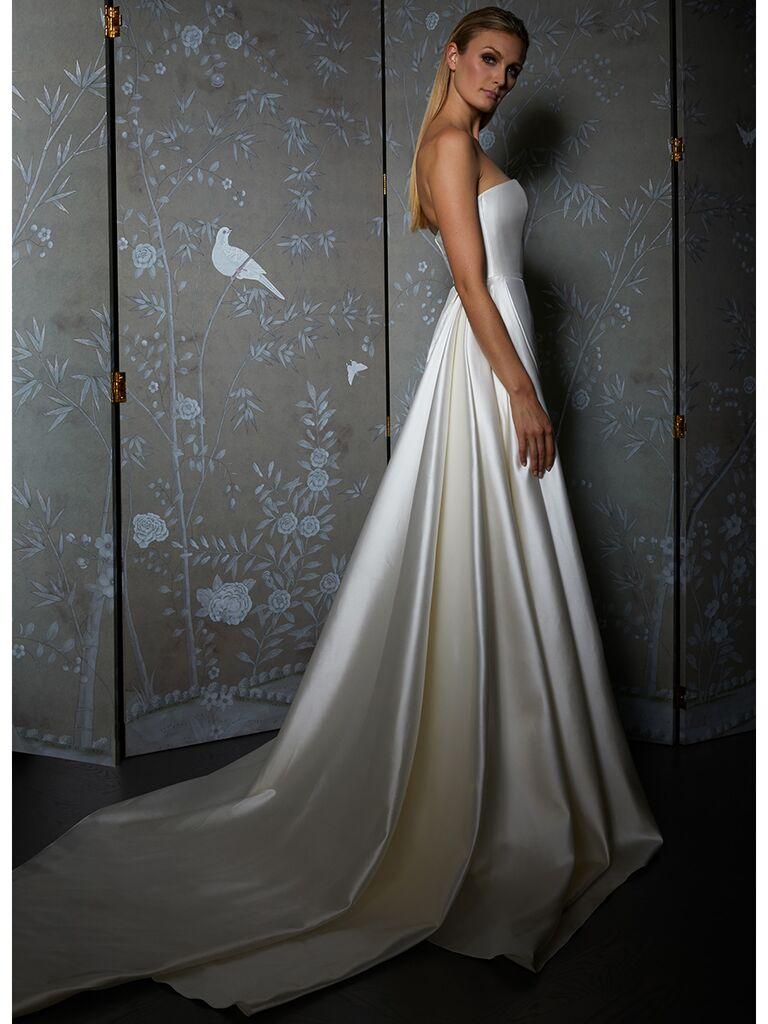 Legends by Romona Keveza wedding dress strapless a-line gown