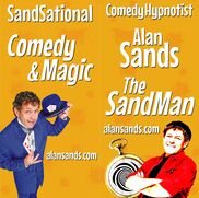 Great Falls, MT Hypnotist | MT Comedy Hypnosis & Magic The SandMan