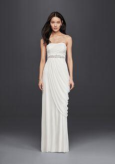 David's Bridal DB Studio Style SDWG0417 Sheath Wedding Dress