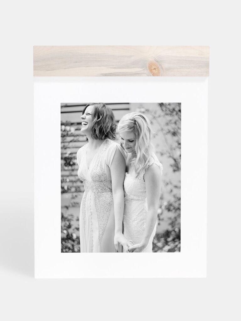 Hanging photo print gift idea