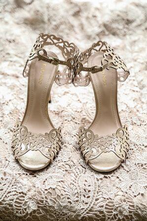 Silver Klub Niko Laced Pattern Shoes