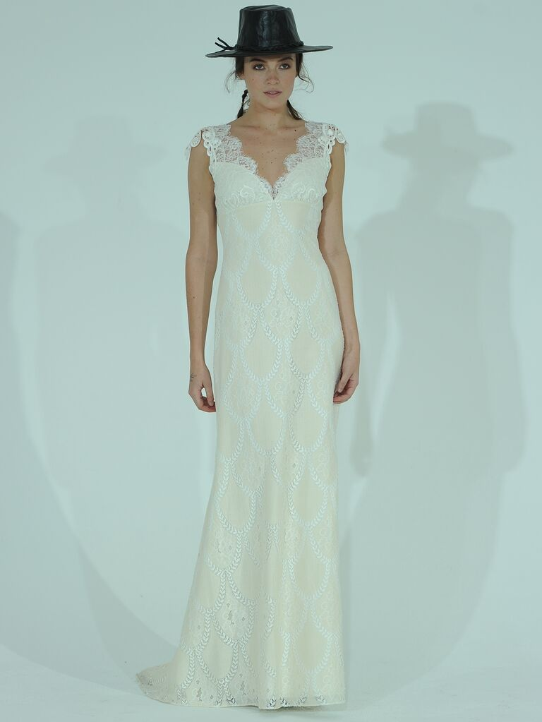 Claire Pettibone Spring Wedding Dresses: Bridal Fashion Week Photos