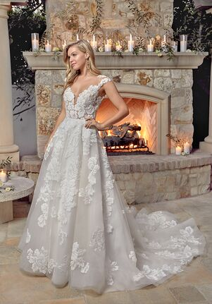 Casablanca Bridal Style 2437 Nicolette Ball Gown Wedding Dress