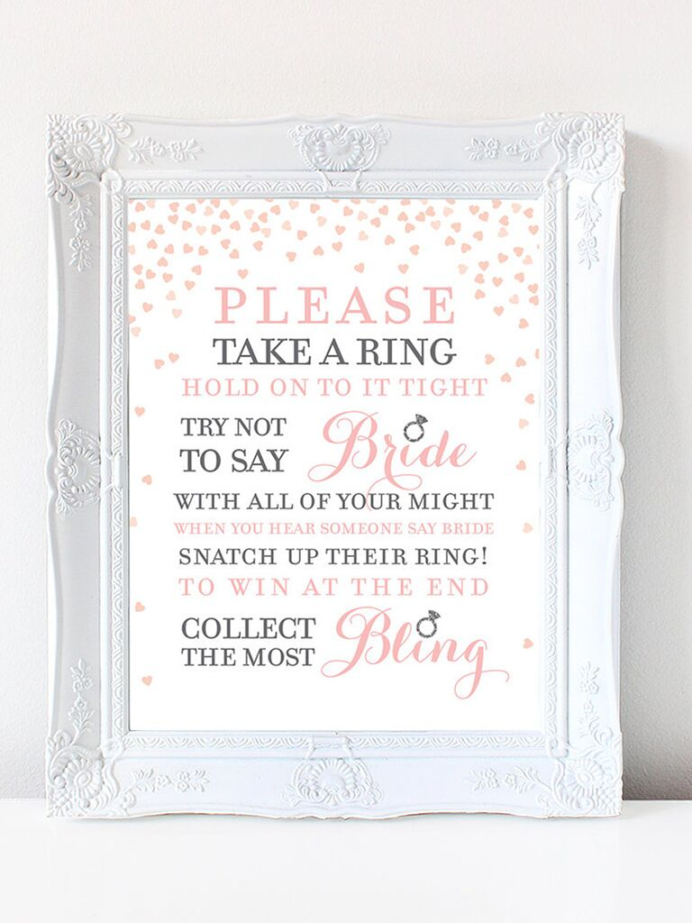 photo relating to Bridal Shower Purse Game Free Printable known as 10 Printable Bridal Shower Game titles toward Do-it-yourself