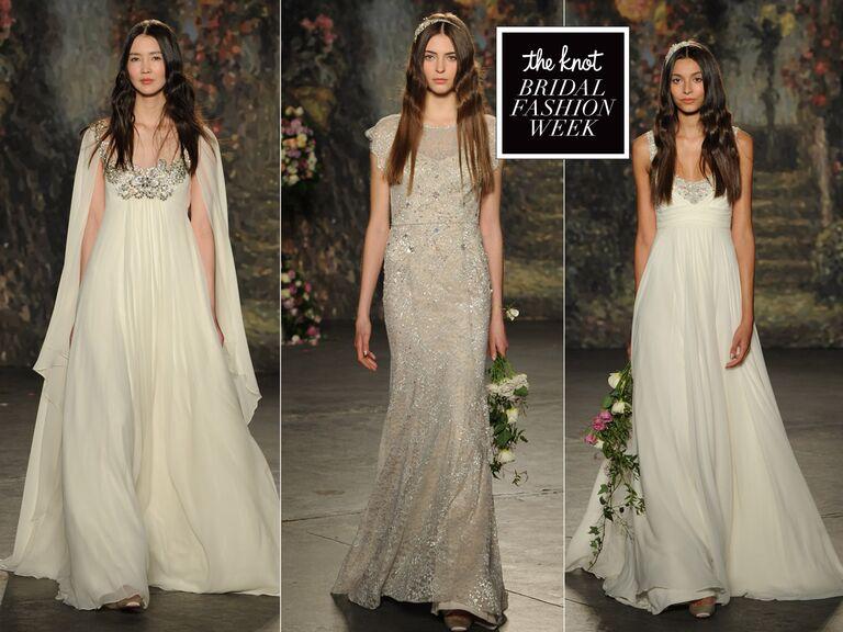 10e3475cbcd65 Jenny Packham Debuts Wedding Dress Collection for Bridal Fashion Week