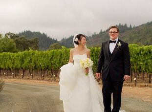 The Bride Tram Nguyen, 30, a math teacher The Groom Joseph Corso, 31, an investment banker The Date October 1   With Joseph's family being on the East