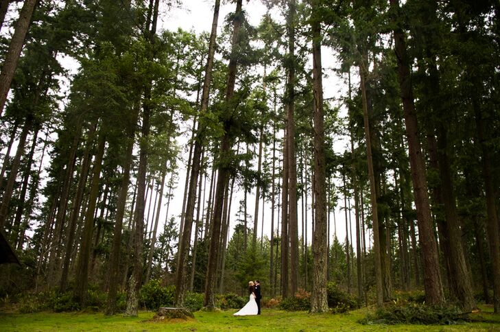 Step into this winter wonderland wedding with a rustic twist! Blair Suek (23 and a high school English teacher) and TJ Suek (25 and an elementary scho