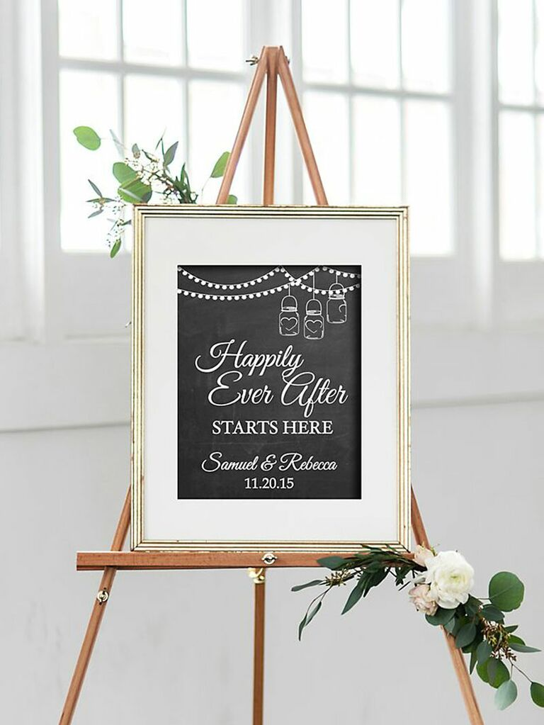 26 Wedding Welcome Signs Perfect For Greeting Guests