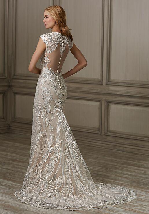 Adrianna Papell Platinum Elle Mermaid Wedding Dress
