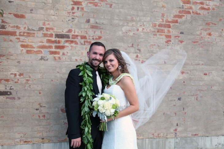 Inspired by their Hawaiian heritage, Brooke Branco (26 and a registered nurse) and Bradley Branco (25 and a health and safety coordinator) incorporate