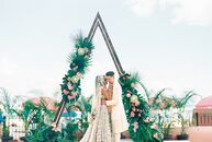 Planning a destination wedding is a feat on its own, but Shaiyanne Dar (31 and an online retail business owner) and John (JP) Wakayama Carey (35 and a
