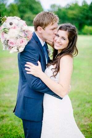 Newlyweds in Brandywine, Virginia