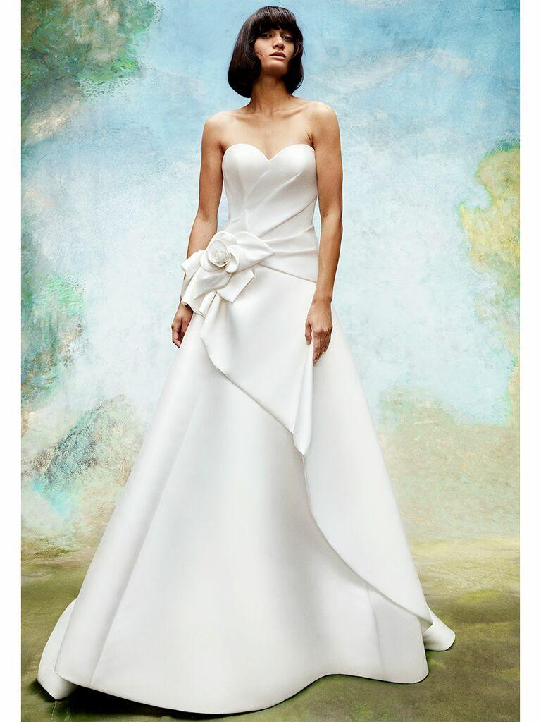 Viktor&Rolf wedding dress strapless ball gown with flower detail