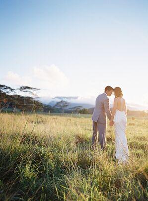 Romantic Tropical Wedding in Kauai, Hawaii