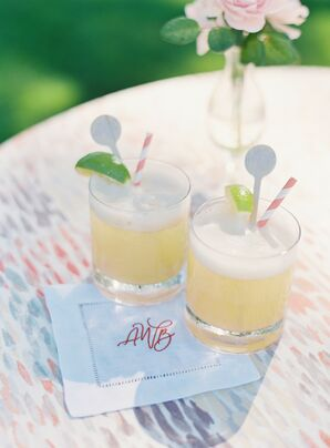 Signature Cocktails and Custom Cocktail Napkins