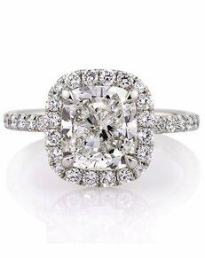 Mark Broumand Classic Cushion Cut Engagement Ring