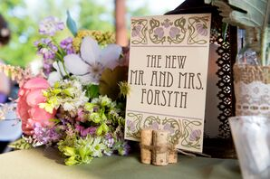 Art Nouveau-Inspired Wedding Decor