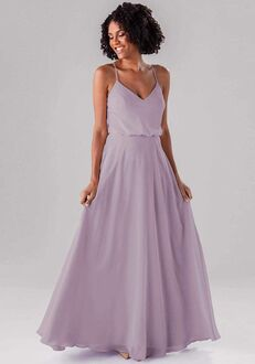 Kennedy Blue Anne V-Neck Bridesmaid Dress