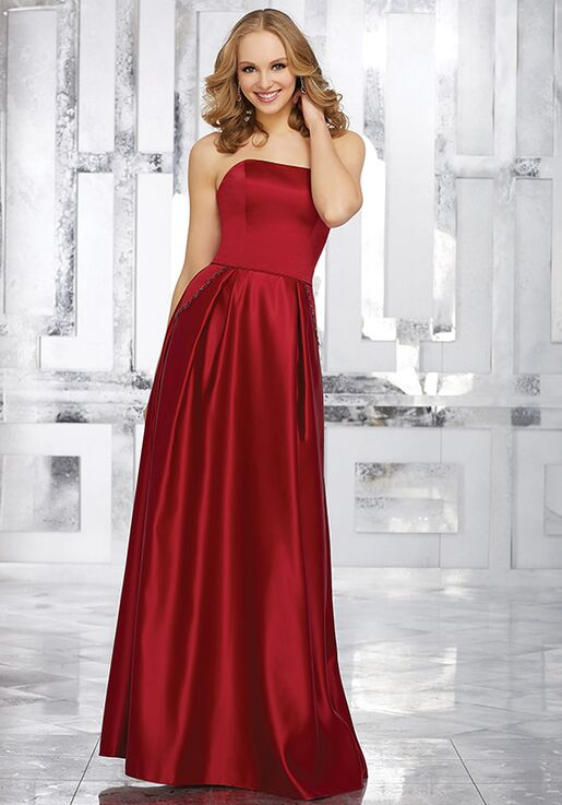 Morilee by Madeline Gardner Bridesmaids Style 21548 Strapless Bridesmaid Dress