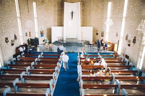 Wedding Ceremony in Traditional Church in Cyprus