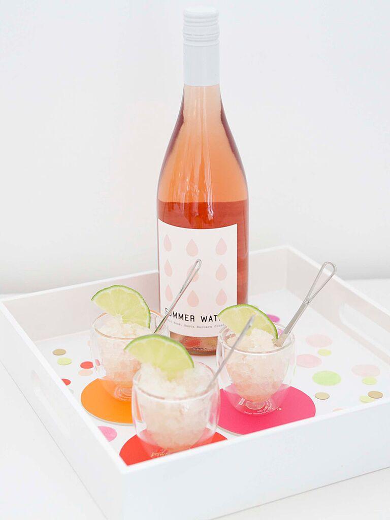 Easy recipe for rosé granita