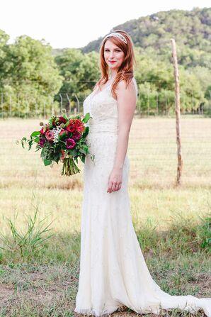 Vintage-Inspired Bridal Dress