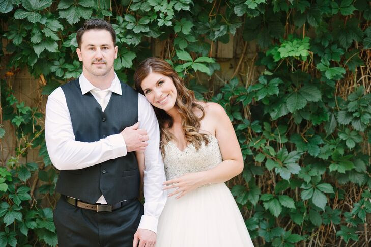 Amber Carlson (31 and a teacher) and Justin Brown (32 and a software developer) had not been on many online dates before meeting each other. Although