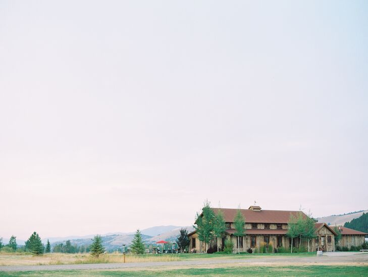 Wedding at The Ranch at Rock Creek in Philipsburg, Montana