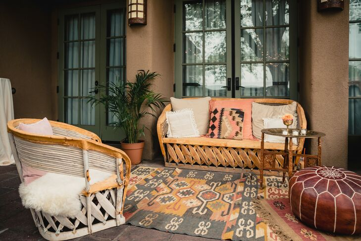 Bohemian and Southwest-Inspired Lounge Furniture