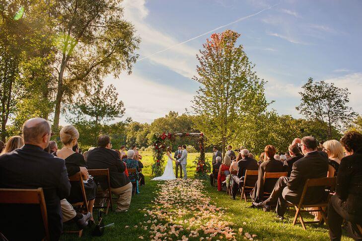 Misty Farm Wedding Ceremony