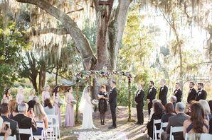 Dover, Florida Romantic Willow Tree Ceremony