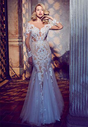 Calla Blanche 17256 Maisie Sheath Wedding Dress