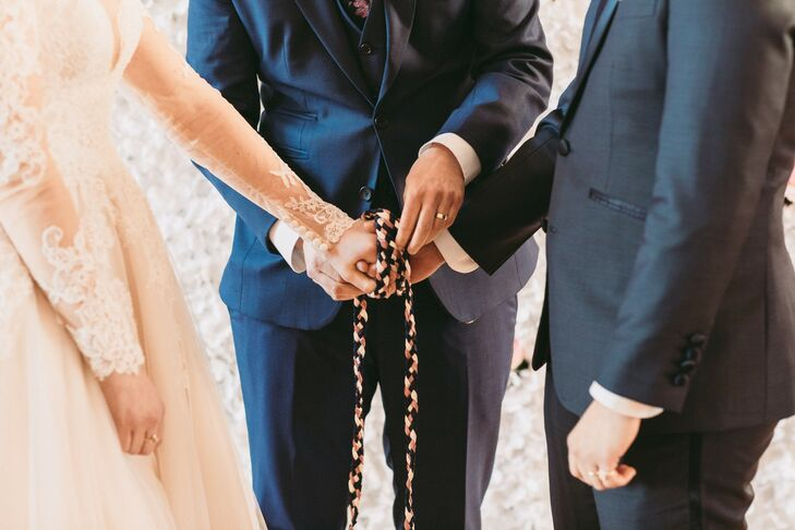 Romantic Wedding with Traditional Handfasting Ceremony
