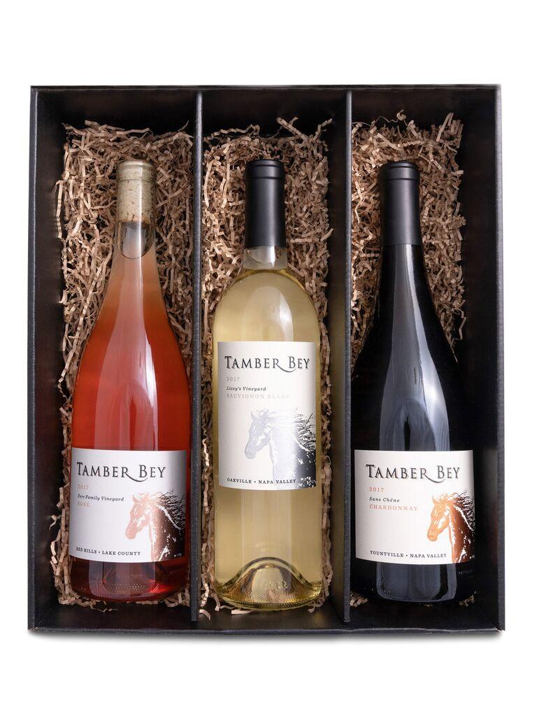 Wine gift set 16th anniversary present