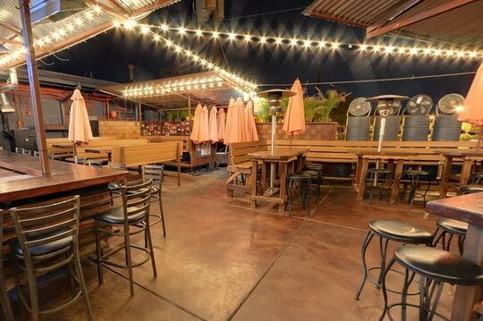 OHSO Brewery + Distillery (Arcadia) - Backyard - Outdoor Bar - Phoenix, AZ