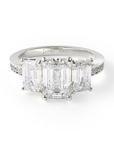 James Allen Classic Emerald Cut Engagement Ring