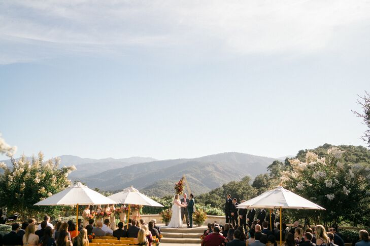 Mountain View During Holman Ranch Ceremony