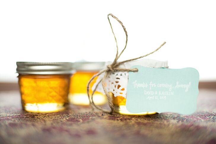 Handmade Local Honey Favors