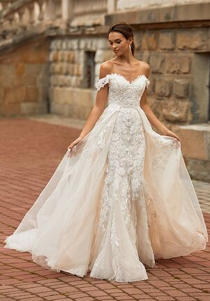 Moonlight Couture H1467 Mermaid Wedding Dress