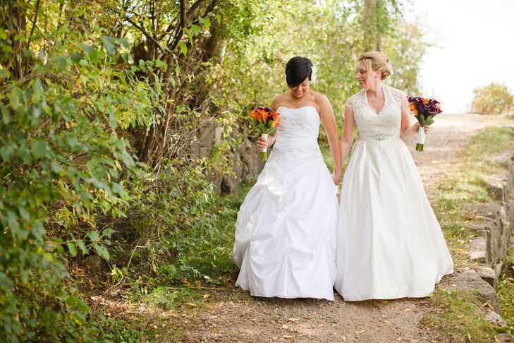 White Ballgown Wedding Dresses
