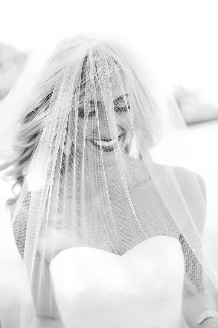 Glamorous, Elegant Bridal Look