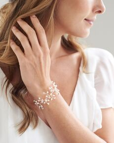 Dareth Colburn Ella Crystal & Pearl Bracelet (JB-7113) Wedding Bracelet photo