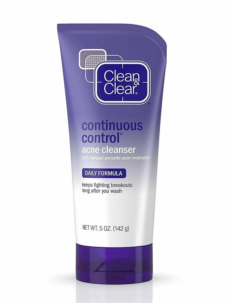 Clean & Clear Continuous Control acne treatment