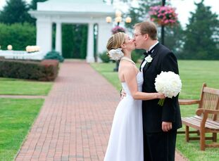 The Bride Sarah Wagner, 25, an executive assistant  The Groom Jeff Becker, 28, a special assistant The Date June 5  With a summer date in mind, the co